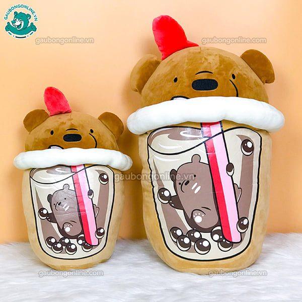 Gấu Bông Trà Sữa Gấu