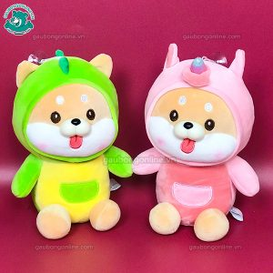 Gấu Nhỏ Chó Bông Shiba Lè Lưỡi