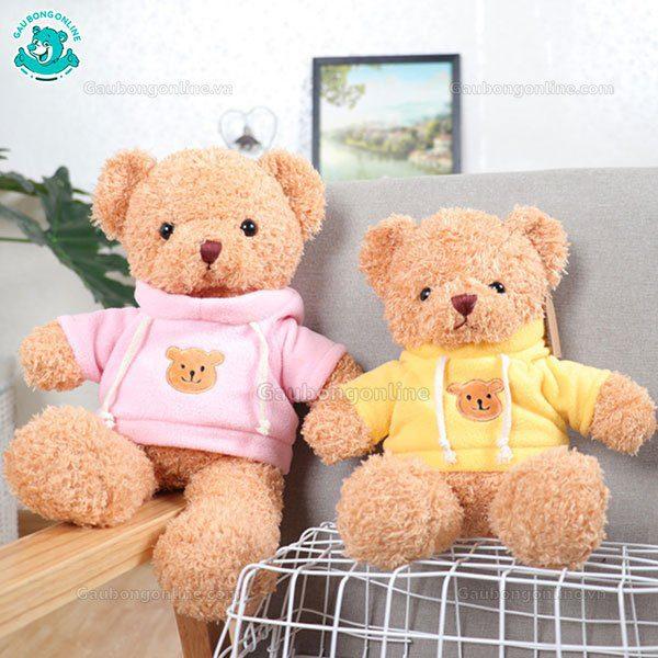 Gấu Bông Head Tales Áo Mũ