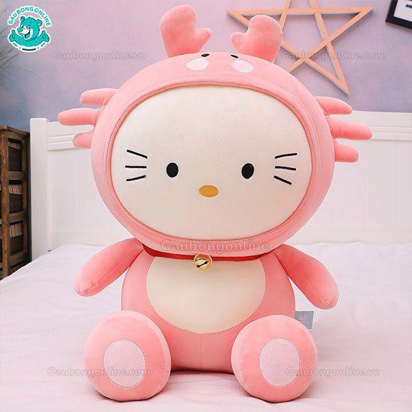 Gấu Bông Kitty Mũ Cua