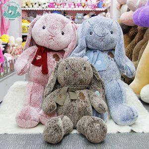 Thỏ Nhung Khăn Len