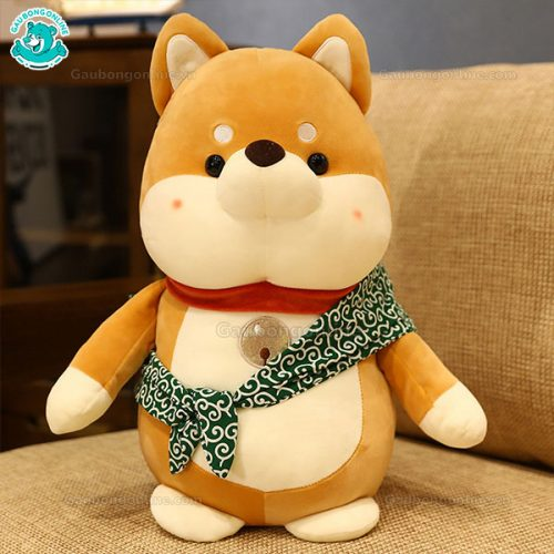 Chó Nhật Bông Đeo Túi