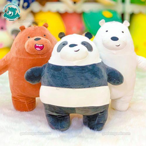 Gấu Bông Bộ Ba Gấu Đứng
