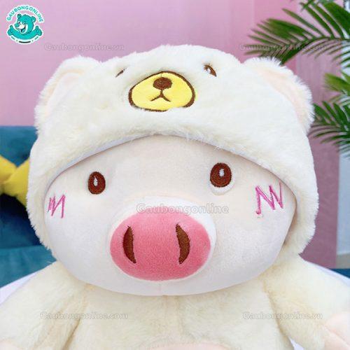 Gấu Bông Heo Mũ Gấu