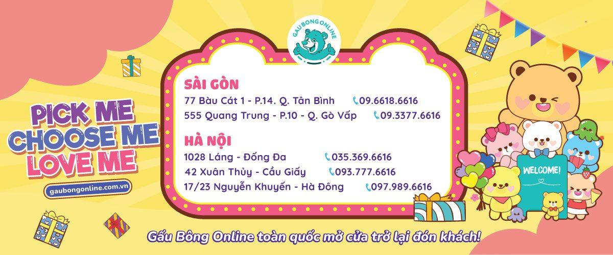 Gấu Bông Online HCM