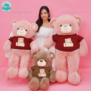 Gấu Bông Teddy Len Gấu Love